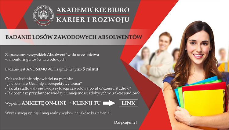 Badanie losów zawodowych Absolwentów - Ankieta