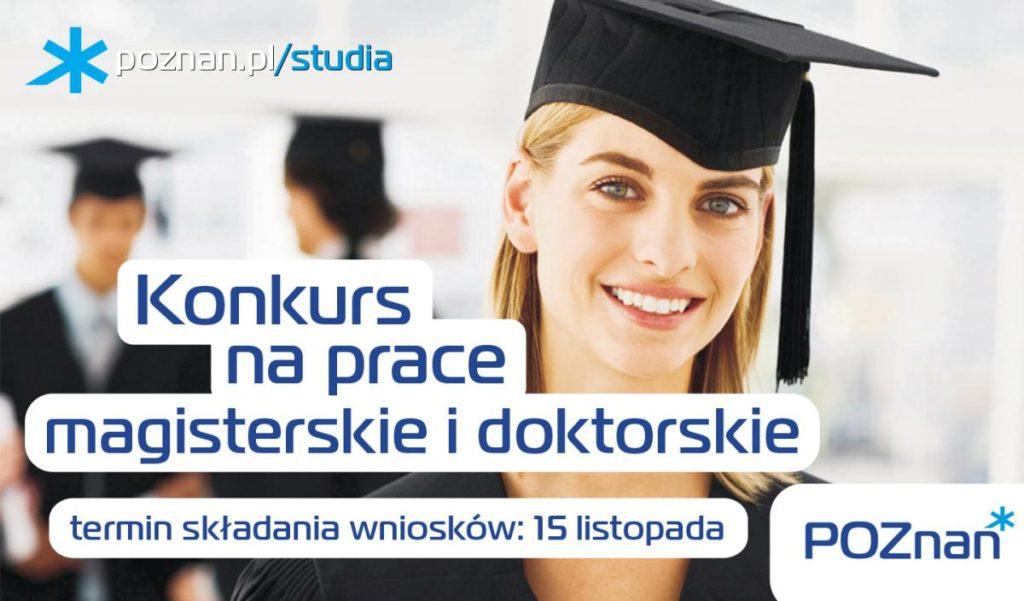 Konkurs na prace magisterskie i doktorskie