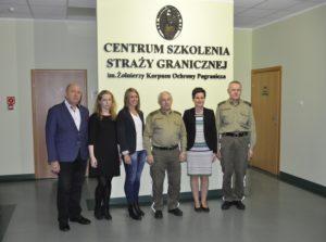 Podpisanie Porozumienia o Współpracy z Centrum Szkolenia Straży Granicznej w Kętrzynie