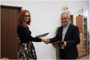 WSS w Gliwicach podpisał porozumienie o współpracy z Zespołem Szkół Ponadgimnazjalnych nr 2 w Rydułtowach