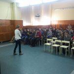 Wykład o dietetyce w Centrum Kształcenia Zawodowego i Ustawicznego nr 1 w Gdyni
