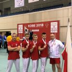 Akademicka Kadra Polski w Karate WKF wraca z Akademickich Mistrzostw Świata KOBE - JAPONIA 2018 z Brązowym Medalem!
