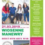 Wiosenne manewry - Drzwi otwarte WNS Skoczów