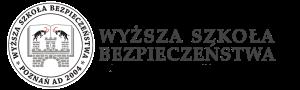 Wyższa Szkoła Bezpieczeństwa – Poznań, Gdańsk, Gliwice, Giżycko, Bartoszyce, Jaworzno, Skoczów, Jastrzębie-Zdrój – logo