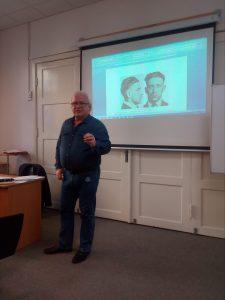 """mgr Andrzej Strabel - prowadzący szkolenie """"Profilowanie psychologiczne sprawców przestępstw"""""""