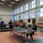 Integracyjne Mistrzostwa Polski AZS w Poznaniu w tenisie stołowym