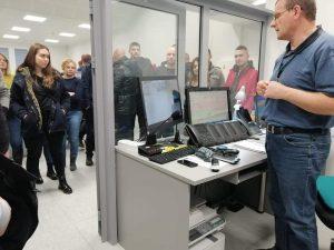 Wizyta studentów w Regionalnym Centrum Bezpieczeństwa w Olsztynie