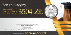 Bon edukacyjny - absolwencie studiuj od marca zyskując aż do 3504 zł 2020 studia od marca