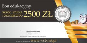 Bon edukacyjny - skróć studia i zaoszczędź do 2500 zł 2020 studia od marca