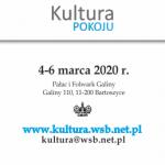 V Międzynarodowa Konferencja Naukowa KULTURA POKOJU - 2020