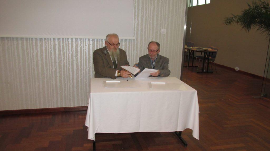 Porozumienie pomiędzy Wyższą Szkołą Bezpieczeństwa z siedzibą w Poznaniu a Nadleśnictwem Bartoszyce