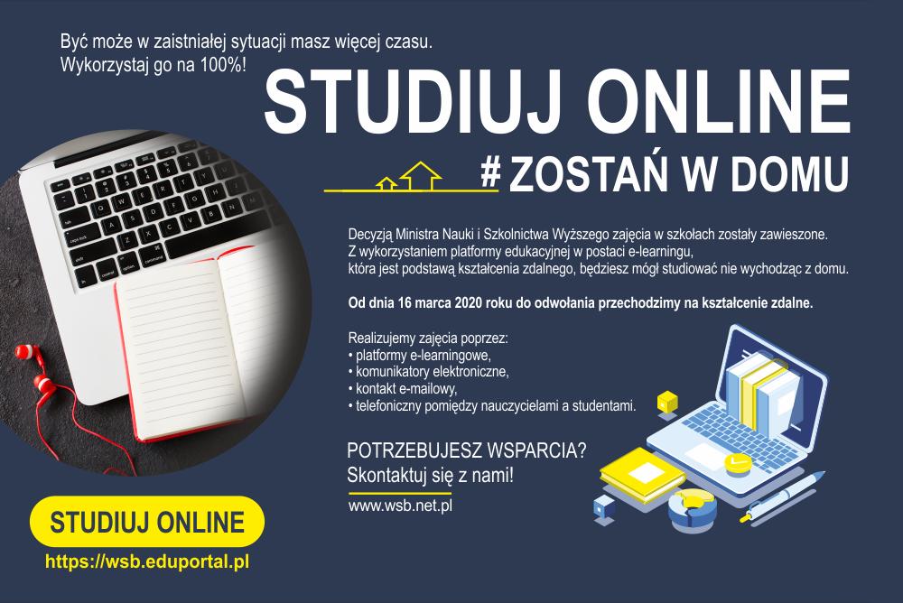 Studia online - Wyższa Szkoła Bezpieczeństwa