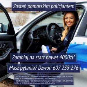 Zostań pomorskim policjantem!