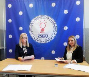 WSS Gliwice podpisało porozumienie z ZSEiU w Łaziskach Górnych