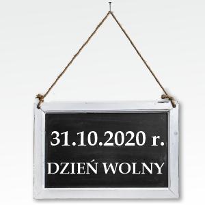 Uczelnia nieczynna 31.10.2020 - 01.11.2020