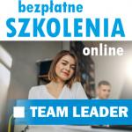 Bezpłatne szkolenie TEAM LEADER - zapraszamy do udziału.