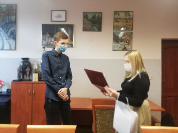 WSB Gliwice - rozdanie nagród w konkursie ekologicznym
