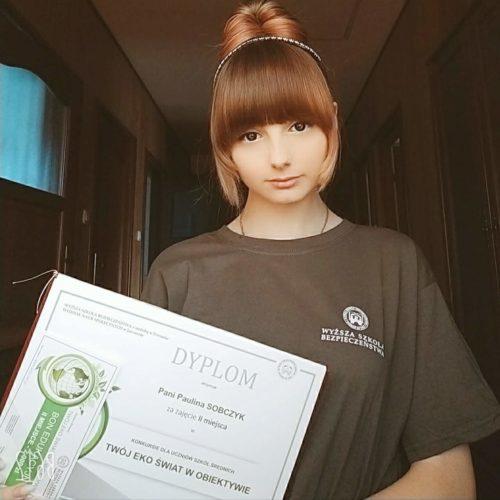 WSB Jaworzno rozdanie nagród w konkursie ekologicznym
