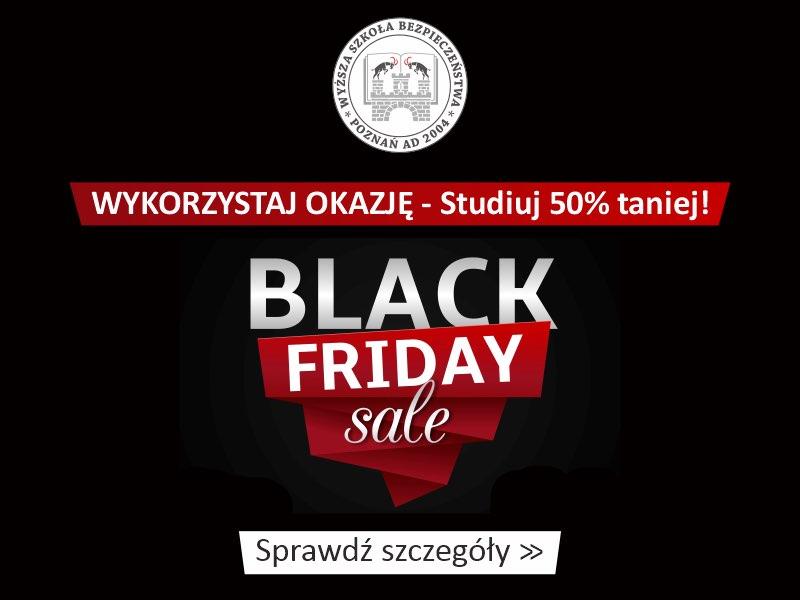 Bon edukacyjny Black Weeks – studiuj 50% taniej!