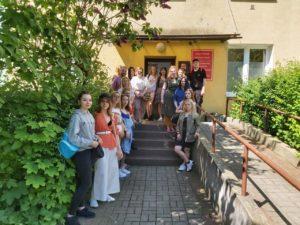 Zajęcia terenowe Studentów z Gdańska