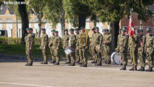 Święto 20 Bartoszyckiej Brygady Zmechanizowanej - uczestnictwo WSB