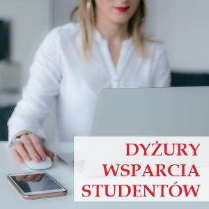 Dyżur - wsparcie dla Studentów WSB